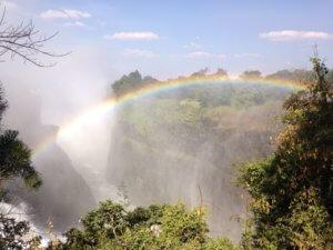 Vicoria Falls Rainbow - Zimbabwe Safari