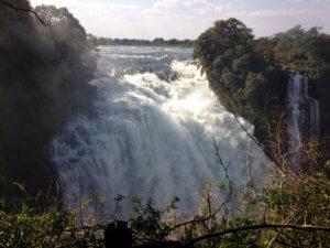 Victoria Falls - Devils Cataract - Zimbabwe Safari