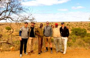 Guests on Camping safari